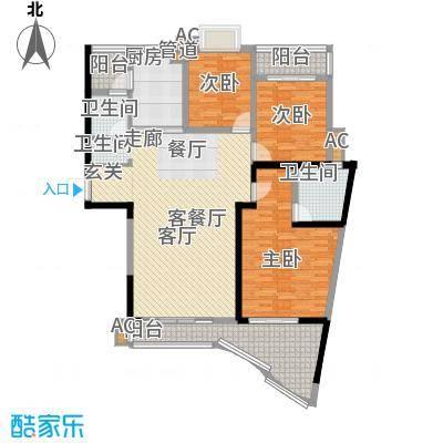 滨江金座户型