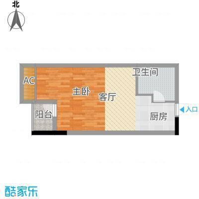 兰亭优壳43.00㎡面积4300m户型