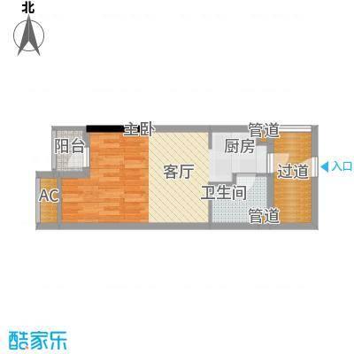 兰亭优壳42.00㎡面积4200m户型