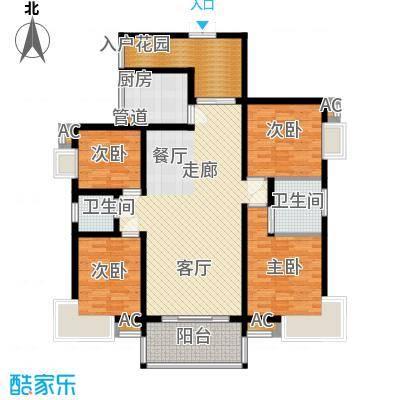 鑫远湘府东苑138.00㎡1面积13800m户型