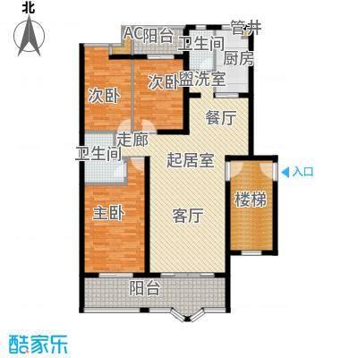 水木兰庭126.87㎡s6面积12687m户型