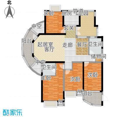 湘江世纪城悦江苑户型