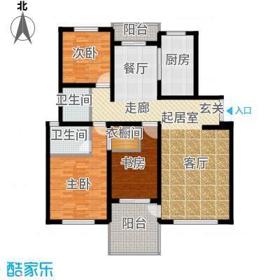 仁和香堤雅境137.13㎡面积13713m户型