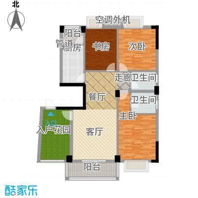 湘江北尚121.00㎡F面积12100m户型