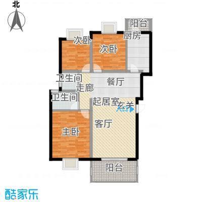 三江花中城114.10㎡24号栋B面积11410m户型