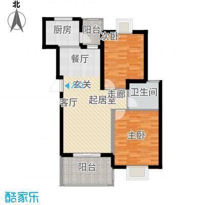 三江花中城95.00㎡面积9500m户型