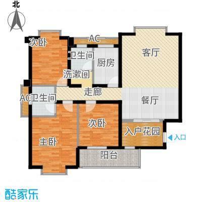 恒盛世家117.93㎡7、11栋R3面积11793m户型