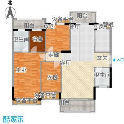 长沙玫瑰园138.50㎡38#楼面积13850m户型