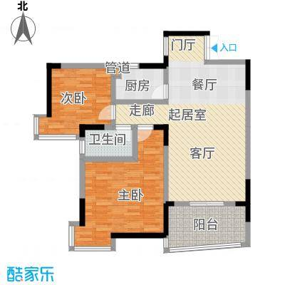 凯乐湘园94.92㎡K1面积9492m户型