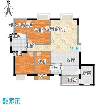 咸嘉新村127.35㎡127351面积12735m户型