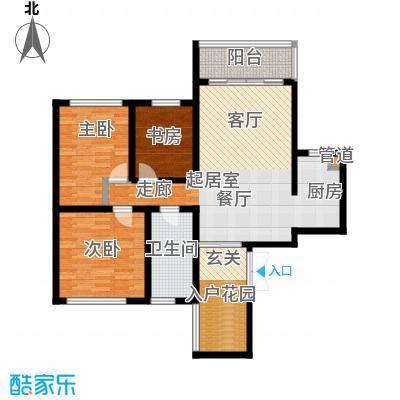 凯乐湘园112.72㎡F面积11272m户型