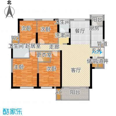 青园小区162.21㎡3栋01、04号面积16221m户型