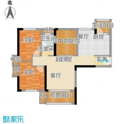 青园小区89.46㎡5栋1、5号面积8946m户型