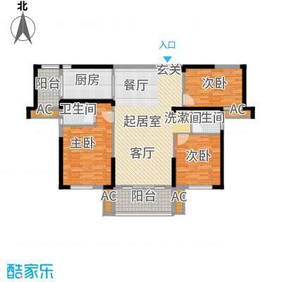 青园小区128.33㎡2栋03、06、09号面积12833m户型
