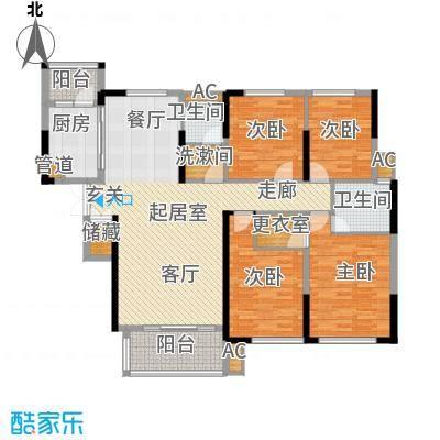 青园小区162.20㎡2栋02、05、08号面积16220m户型