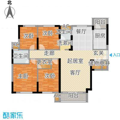 青园小区162.46㎡2栋01、04、07号面积16246m户型