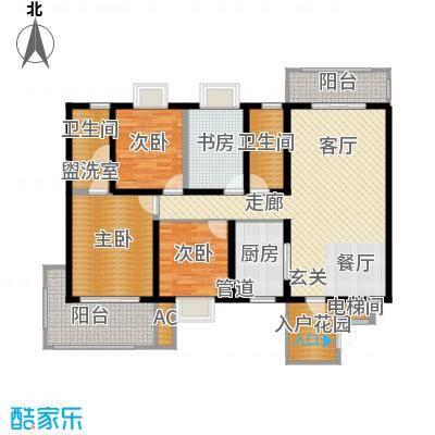 世纪桃花苑135.41㎡面积13541m户型