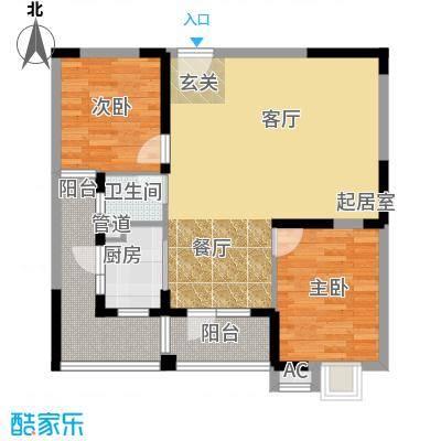 锦湘国际星城94.28㎡K5面积9428m户型