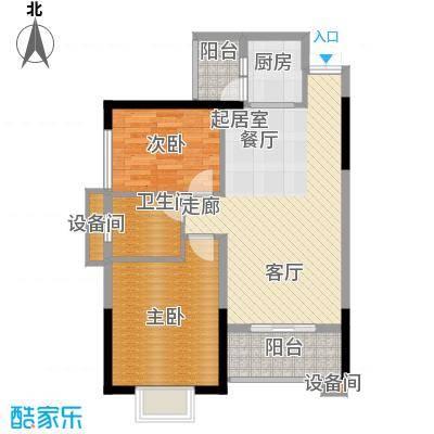 上海城79.70㎡三期30栋-D32面积7970m户型