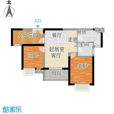 湘江世纪城91.00㎡悦江苑7#楼02面积9100m户型