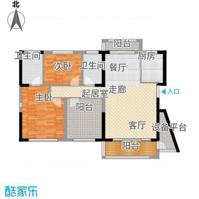 晟通牡丹舸142.95㎡B户型