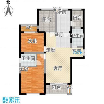 长高圆梦佳苑113.31㎡2、3、9#B2户型