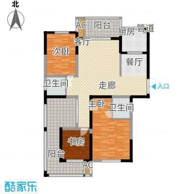 长高圆梦佳苑156.50㎡4#A1户型