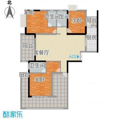 中建江山壹号183.00㎡1、2栋A1户型