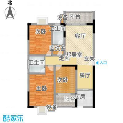 西源鑫大厦137.65㎡A1户型