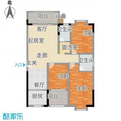 西源鑫大厦145.50㎡6号户型