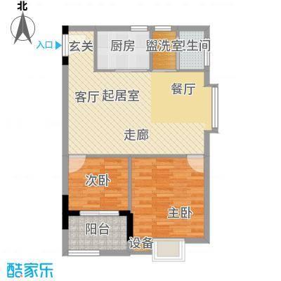 西源鑫大厦83.00㎡G8户型