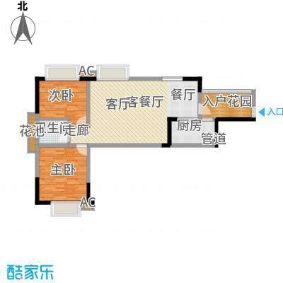 鑫天御景湾89.29㎡6-7#B1户型