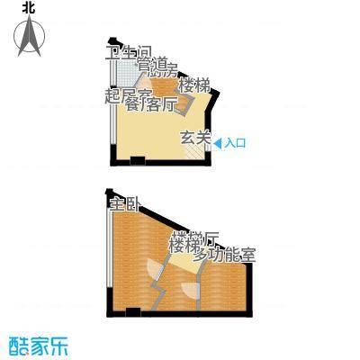 鑫秋大厦47.00㎡E户型