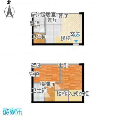 鑫秋大厦47.00㎡D户型