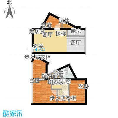 鑫秋大厦36.00㎡C2户型