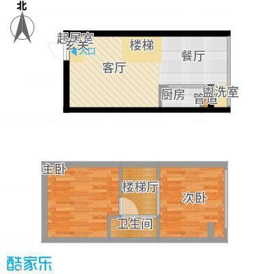 鑫秋大厦50.95㎡C户型