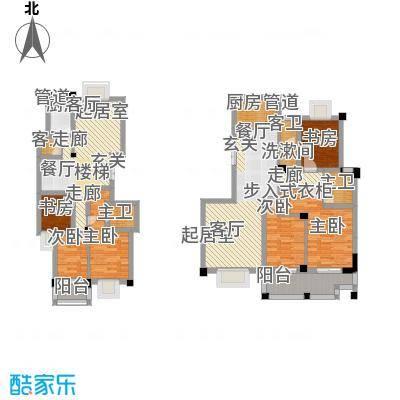 中江国际花城135.51㎡1面积13551m户型