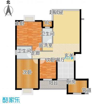 鑫天山水洲城141.50㎡B5面积14150m户型
