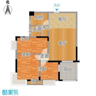 万里江山104.45㎡C户型