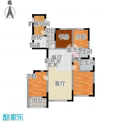 纳爱斯阳光锦城152.00㎡3D户型