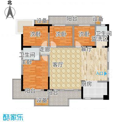 万里江山145.56㎡A户型