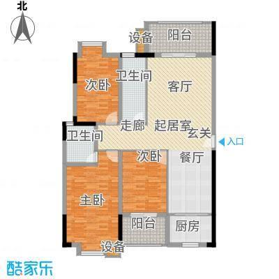 西源鑫大厦139.76㎡5号户型