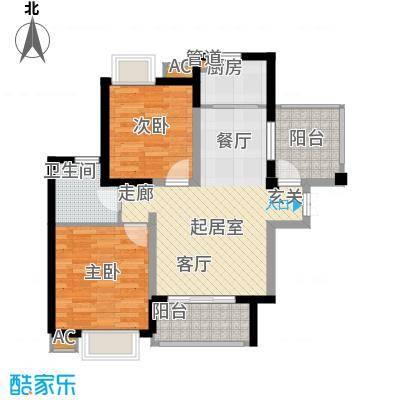 湘江世纪城89.00㎡悦江苑6#楼05面积8900m户型