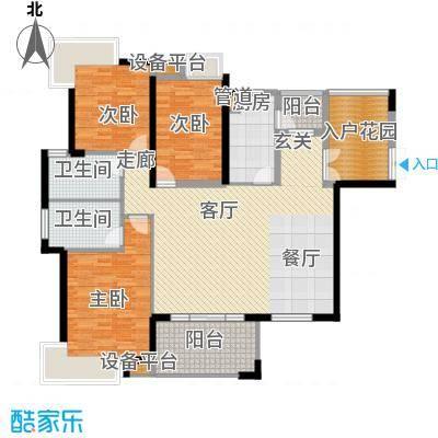 藏珑湖上国际社区140.00㎡2-72-803户型