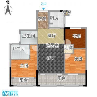 湘水郡102.49㎡6-2户型