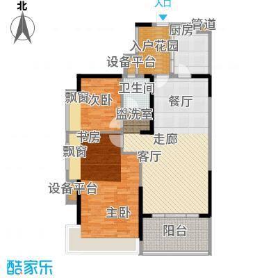 藏珑湖上国际社区102.00㎡2-72-802户型