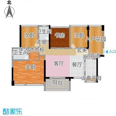 藏珑湖上国际社区138.00㎡A1户型