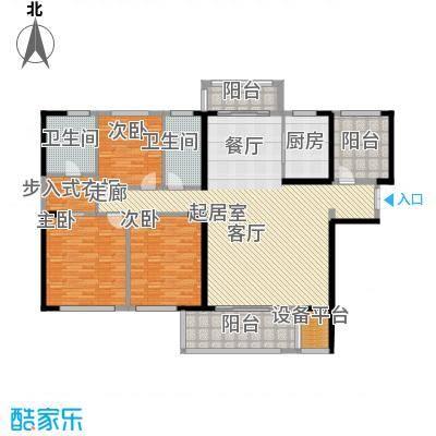 晟通牡丹舸188.59㎡D户型