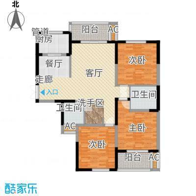 长高圆梦佳苑142.92㎡4#B1户型