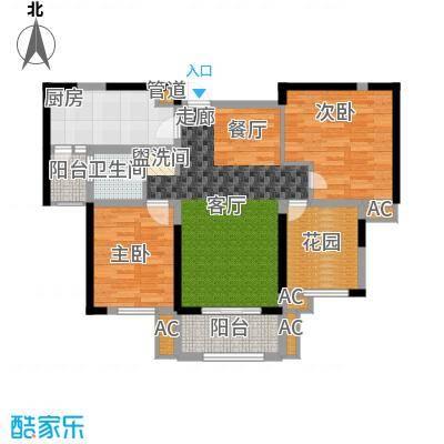 长沙世茂铂翠湾93.00㎡三期1#2#31层A2户型